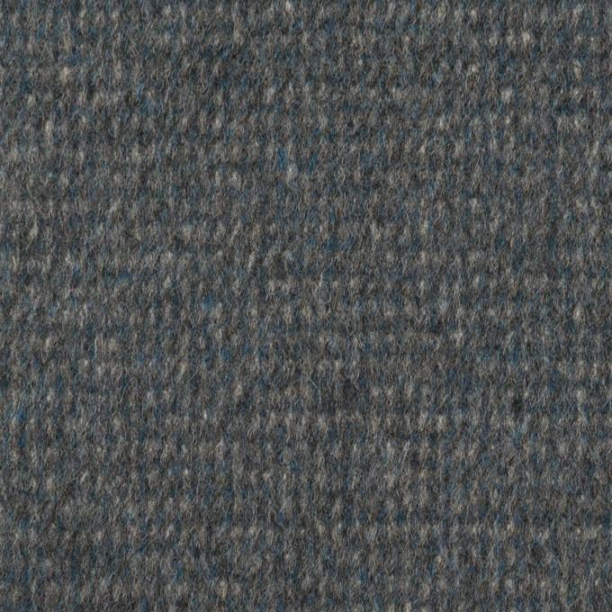 ウール×ミックス(ブルーグレー)×ビーバー イメージ1