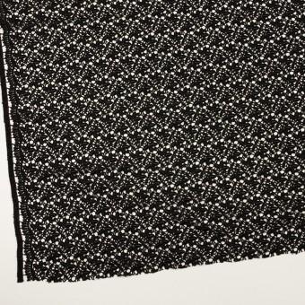 レーヨン×フラワー(ブラック)×ケミカルレース_全2色 サムネイル2