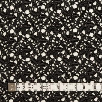 レーヨン×フラワー(ブラック)×ケミカルレース_全2色 サムネイル4
