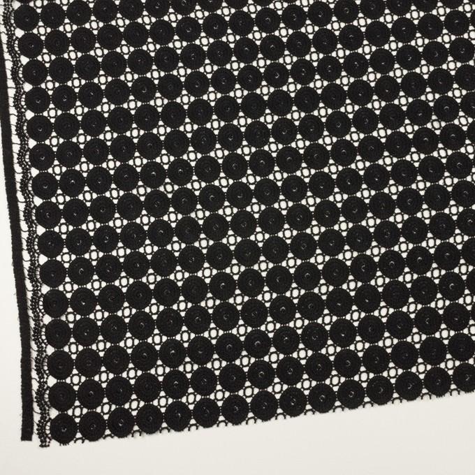 コットン×サークル(ブラック)×ケミカルレース イメージ2