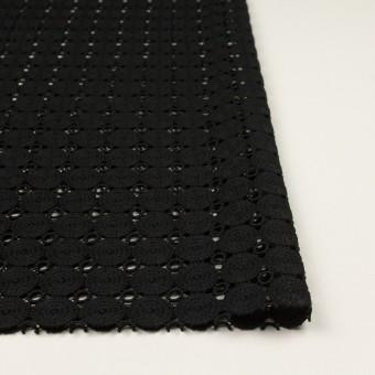 コットン×サークル(ブラック)×ケミカルレース サムネイル3