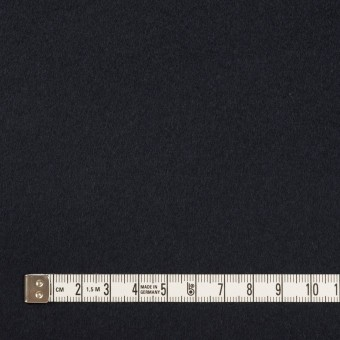 ウール&カシミア×無地(ネイビー)×ビーバー サムネイル4