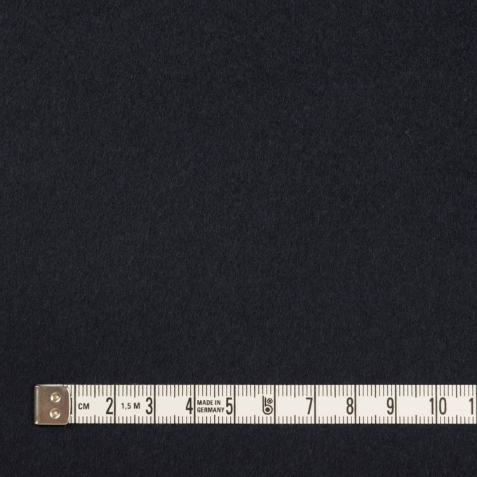 ウール&カシミア×無地(ネイビー)×ビーバー イメージ4
