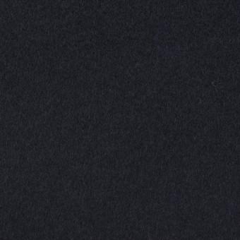 ウール&カシミア×無地(ネイビー)×ビーバー