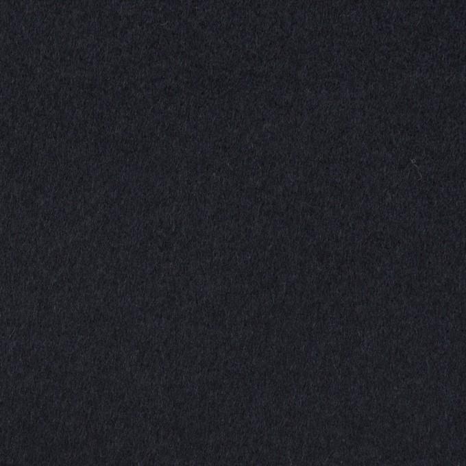ウール&カシミア×無地(ネイビー)×ビーバー イメージ1