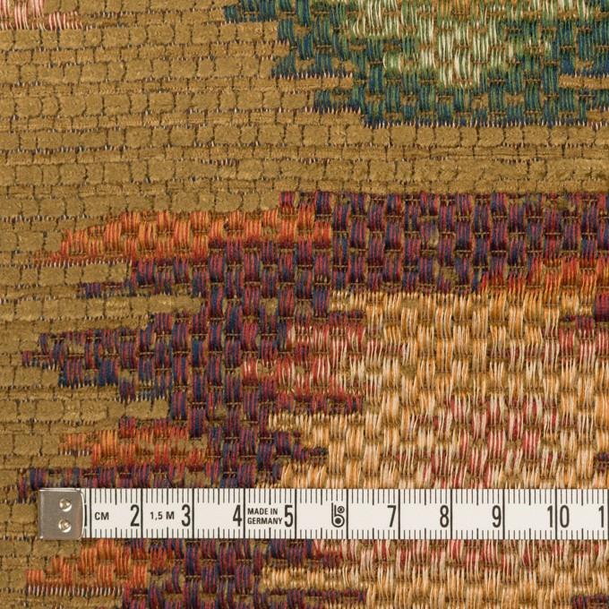 ポリエステル&ビスコース混×幾何学模様(マルチ)×ゴブラン織_イタリア製 イメージ4