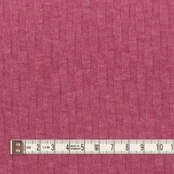 アクリル&レーヨン×無地(チェリーピンク)×ジャガードニット サムネイル4
