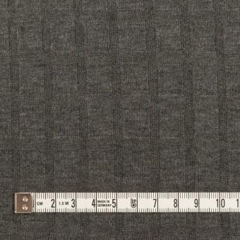 アクリル&レーヨン×無地(チャコールグレー)×ジャガードニット サムネイル4