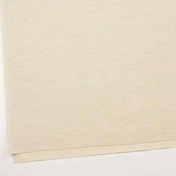 コットン&ポリウレタン×ミックス(キナリ&グレー)×フランネル イメージ2