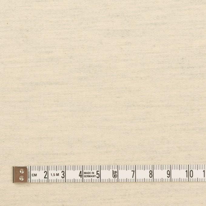 コットン&ポリウレタン×ミックス(キナリ&グレー)×フランネル イメージ4