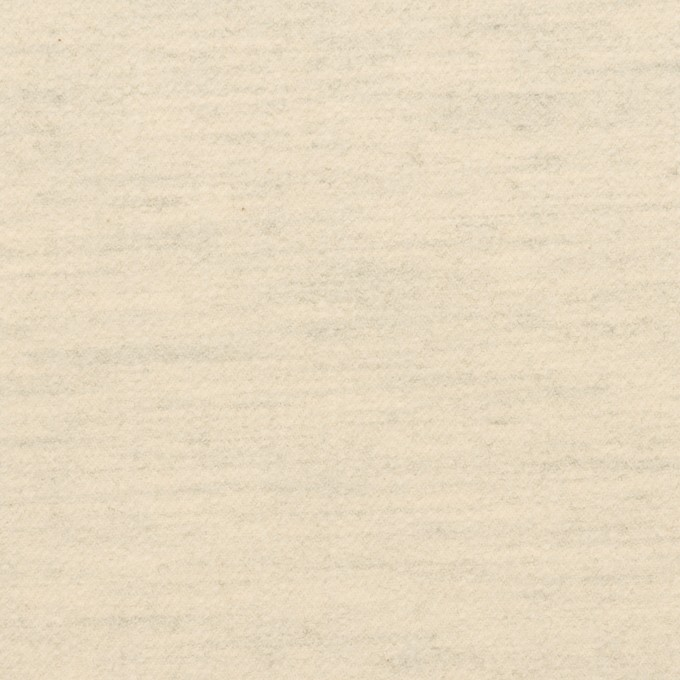 コットン&ポリウレタン×ミックス(キナリ&グレー)×フランネル イメージ1