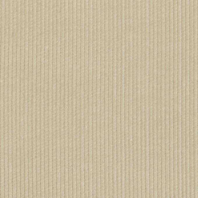 コットン×無地(グレイッシュベージュ)×細コーデュロイ イメージ1
