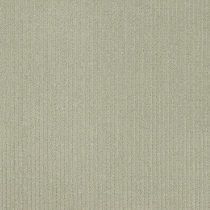 コットン&ポリウレタン×無地(セージグリーン)×細コーデュロイ・ストレッチ イメージ1
