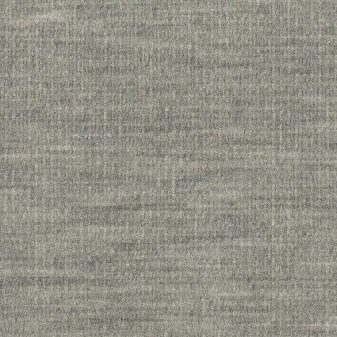 コットン&ポリウレタン×無地(グレー)×細コーデュロイ・ストレッチ イメージ1