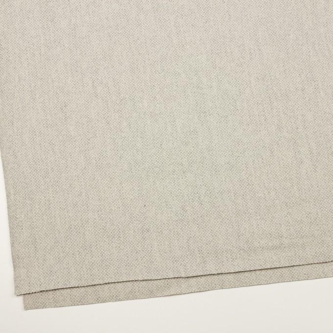 ウール&アンゴラ×ミックス(ライトグレー)×斜子織_全4色 イメージ2