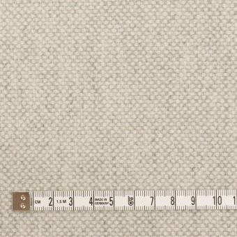 ウール&アンゴラ×ミックス(ライトグレー)×斜子織_全4色 サムネイル4