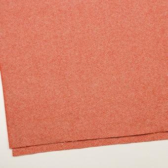 ウール&アンゴラ×ミックス(オレンジレッド)×斜子織_全4色 サムネイル2