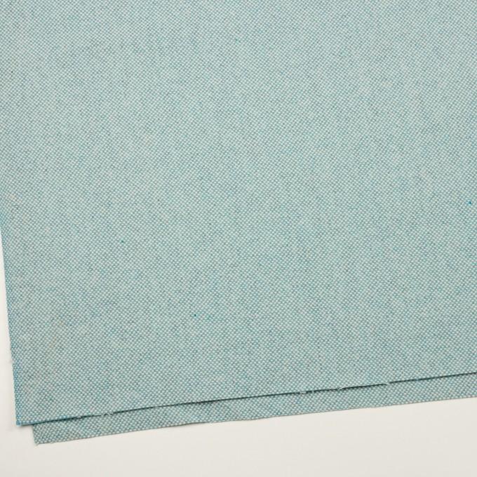ウール&アンゴラ×ミックス(サックス)×斜子織_全4色 イメージ2