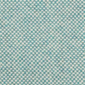 ウール&アンゴラ×ミックス(サックス)×斜子織_全4色 サムネイル1