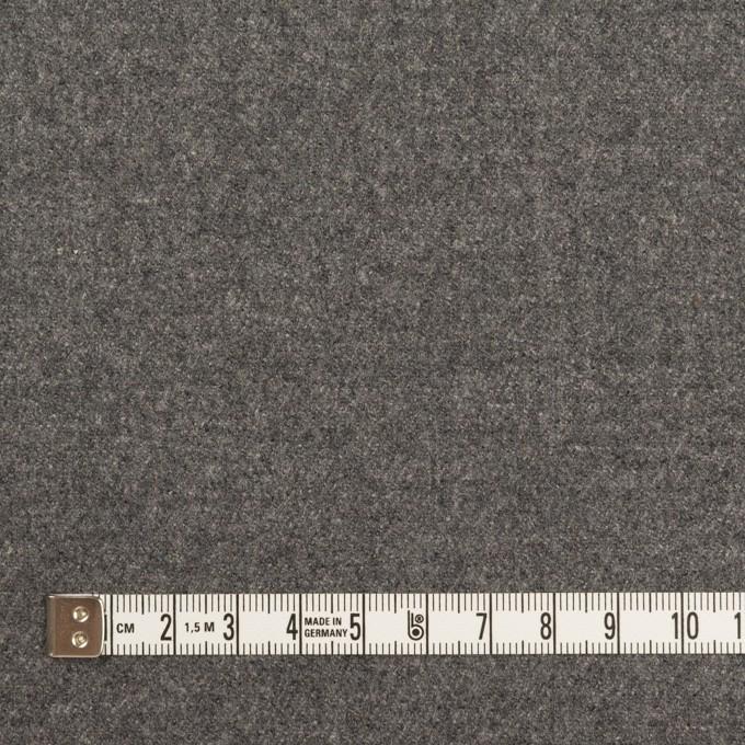 ウール×無地(グレー)×サージ イメージ4