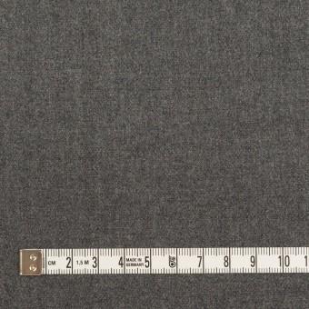 ウール×無地(グレー)×サージ サムネイル4
