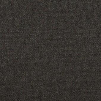 ポリエステル&ポリウレタン×無地(チャコールグレー)×サージストレッチ サムネイル1