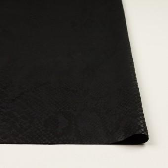 ポリエステル×スネーク(ブラック)×スエードかわり織 サムネイル3