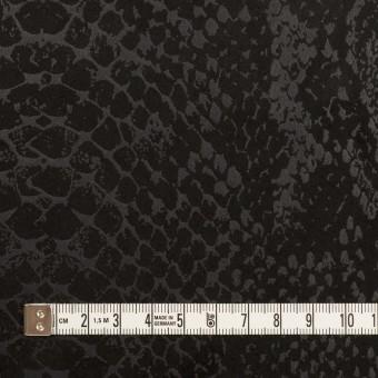 ポリエステル×スネーク(ブラック)×スエードかわり織 サムネイル4
