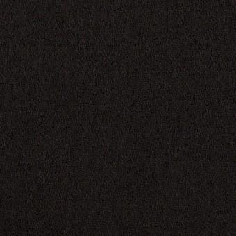 ウール×無地(ブラック)×ジョーゼット