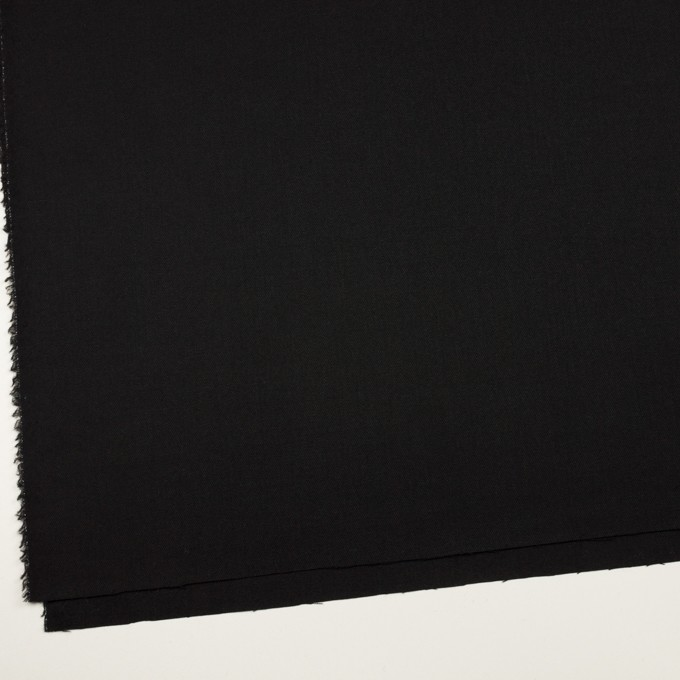 ウール&ポリウレタン×無地(ブラック)×サージストレッチ イメージ2