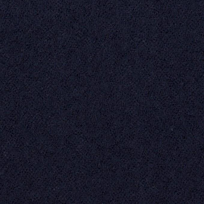 ウール×無地(ネイビー)×ガーゼ_全2色 イメージ1