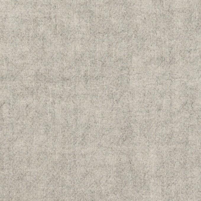 ウール×無地(ライトグレー)×ガーゼ イメージ1