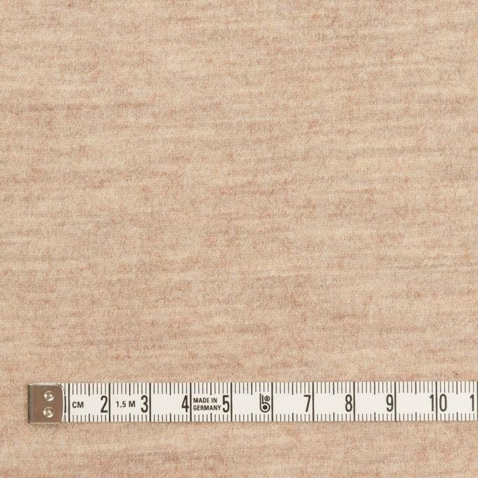 ウール&ナイロン×無地(オートミール)×圧縮ニット_全2色 イメージ4