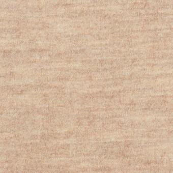 ウール&ナイロン×無地(オートミール)×圧縮ニット_全2色