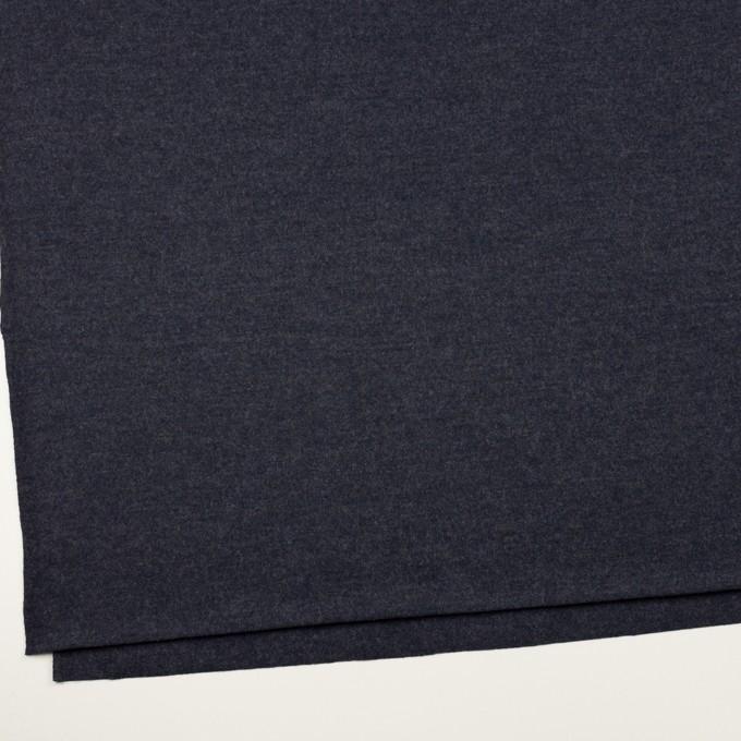 ウール&ナイロン×無地(アッシュネイビー)×圧縮ニット_全2色 イメージ2