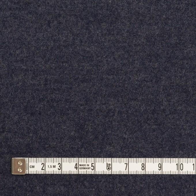 ウール&ナイロン×無地(アッシュネイビー)×圧縮ニット_全2色 イメージ4