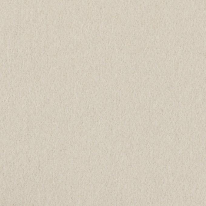 ウール×無地(オイスターグレー)×ソフトメルトン イメージ1