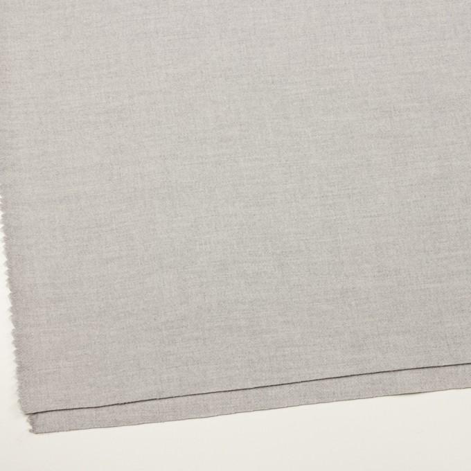 ウール&ナイロン×無地(ライトグレー)×ソフトメルトン イメージ2