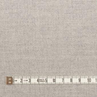 ウール&ナイロン×無地(ライトグレー)×ソフトメルトン サムネイル4