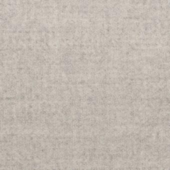 ウール&ナイロン×無地(ライトグレー)×ソフトメルトン サムネイル1