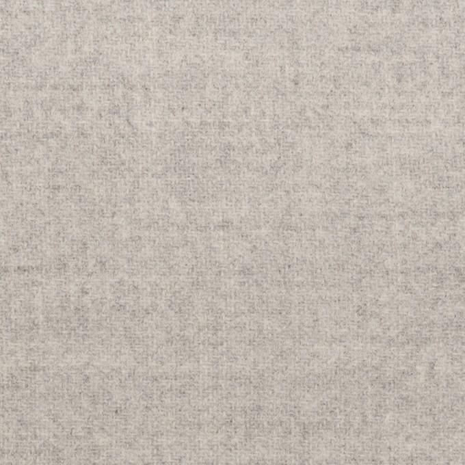 ウール&ナイロン×無地(ライトグレー)×ソフトメルトン イメージ1