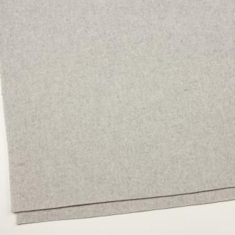 ウール×無地(ライトグレー)×ソフトメルトン サムネイル2