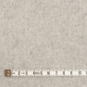 ウール×無地(ライトグレー)×ソフトメルトン サムネイル4
