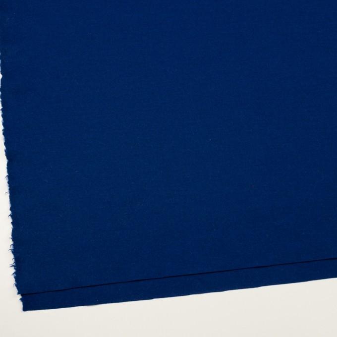ウール×無地(マリンブルー)×圧縮ニット イメージ2