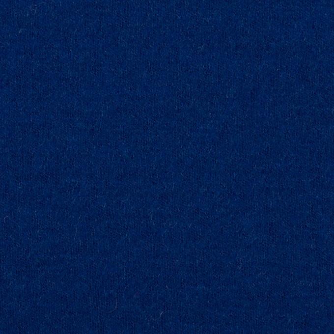 ウール×無地(マリンブルー)×圧縮ニット イメージ1