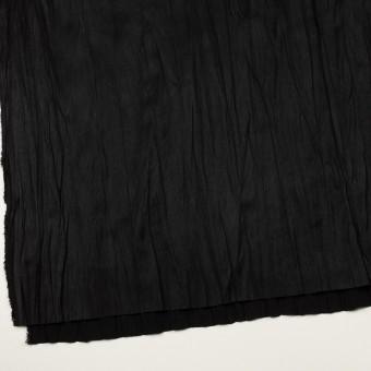 ポリエステル×無地(ブラック)×スエードかわり織(プリーツ加工) サムネイル2