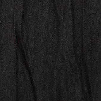 ポリエステル×無地(ブラック)×スエードかわり織(プリーツ加工)