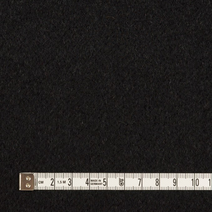 ウール×水玉&無地(ダークネイビー&ブラック)×ジャガード&ビーバー(Wフェイス) イメージ6