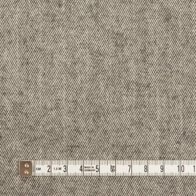 コットン×ミックス(グレー)×ヘリンボーン_フロッキー_イタリア製 イメージ4