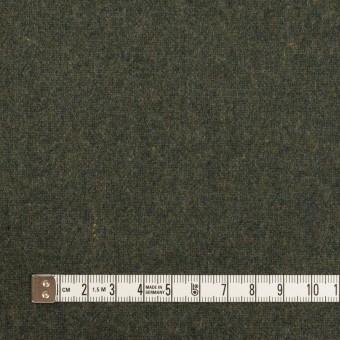 ウール×無地(モスグリーン)×ツイード サムネイル4